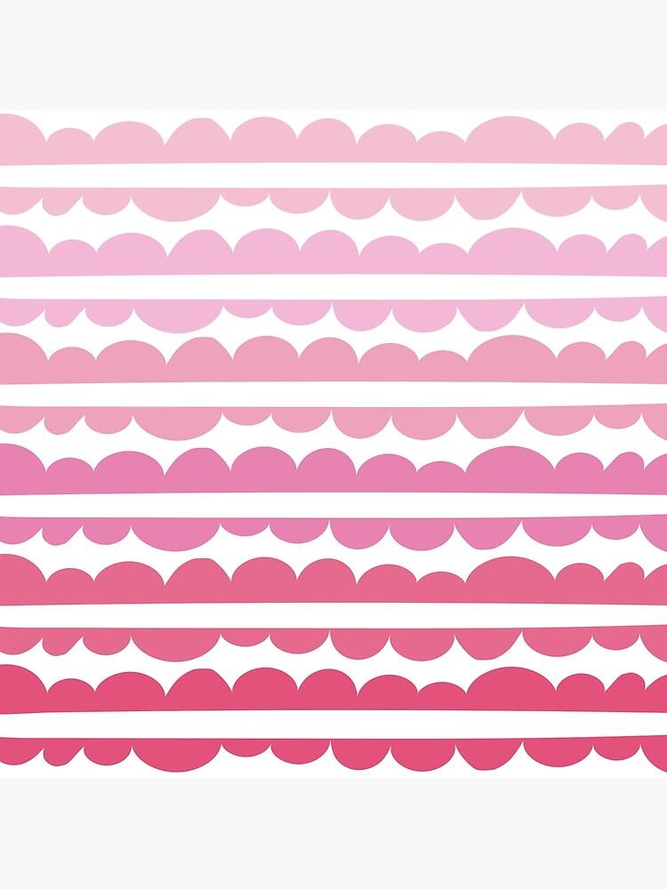 Mordidas Gradient Pink  by caligrafica