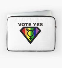 vote Yes !! Laptop Sleeve