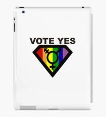 vote Yes !! iPad Case/Skin