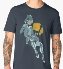 Cute Robot Girl Shirt Men's Premium T-Shirt
