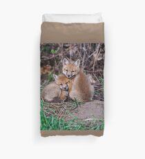 Fox Kit 7 Duvet Cover