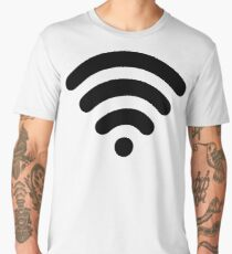 Wi-Fi Abstract Men's Premium T-Shirt