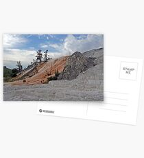 Mammoth Hot Springs and the Devil's Thumb Postcards