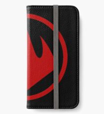 Logo Foot Tortues Ninja 2003 iPhone Wallet/Case/Skin