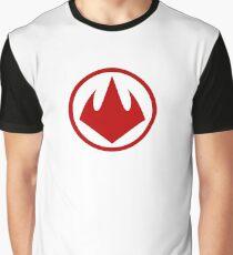 Logo Foot Tortues Ninja 2003 Graphic T-Shirt