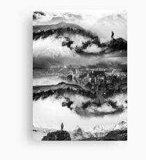 Lost city of Black Oz Canvas Print