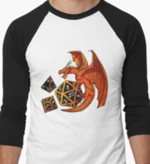 The Dice Dragon - D20, D4, D10 T-Shirt