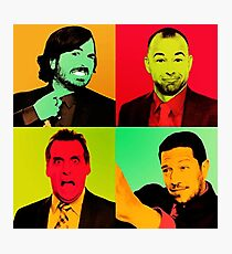 Impractical Jokers Pop Art Photographic Print