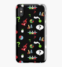 Science is fun Pattern iPhone Case/Skin