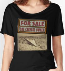ONE CAREFUL OWNER Women's Relaxed Fit T-Shirt