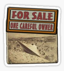 ONE CAREFUL OWNER Sticker