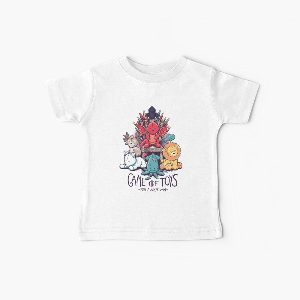 Game of Thrones Toys Baby T-Shirt