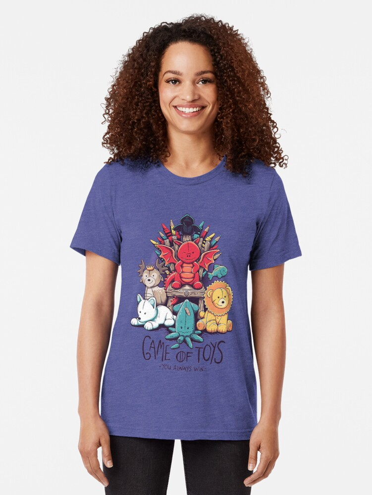 Alternate view of Game of Thrones Toys Tri-blend T-Shirt