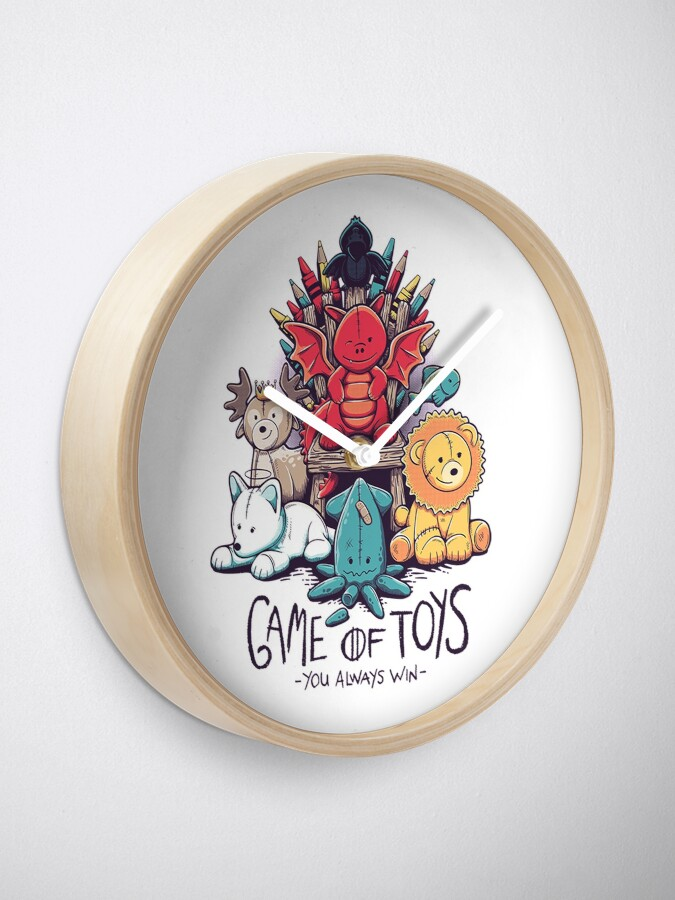 Alternate view of Game of Thrones Toys Clock