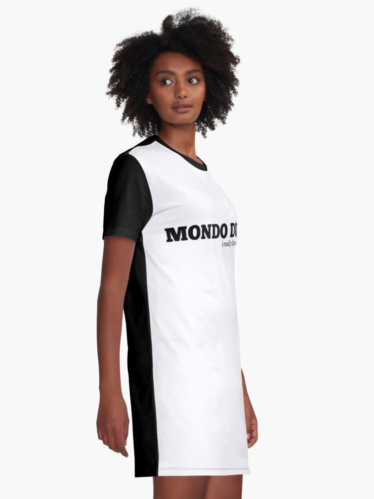 Alternate view of Impractical Jokers Mondo Duke Graphic T-Shirt Dress