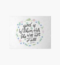 Christian Quote Art Board