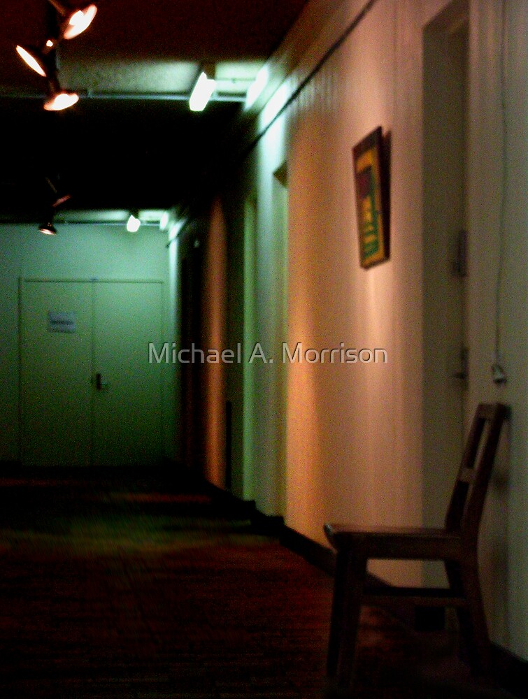 the waiting by Michael A. Morrison