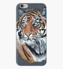 Vinilo o funda para iPhone Retrato del tigre