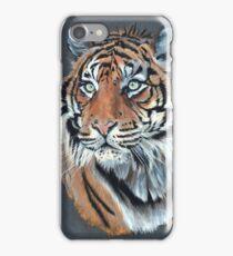 Portrait de tigre iPhone Case/Skin