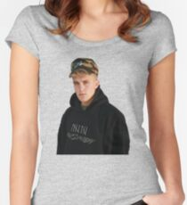 jake paul!!!!!!!!!!!!!!!! Women's Fitted Scoop T-Shirt