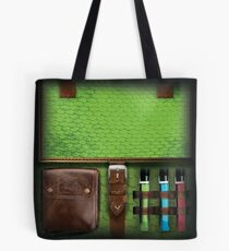 Dragon Scale Adventurers Bag Tote Bag