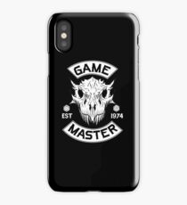 Game Master D&D iPhone Case/Skin
