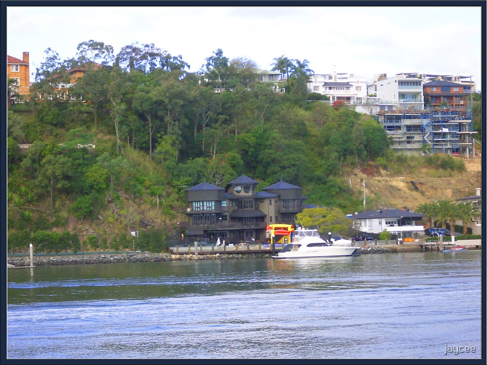 House across the river... by jaycee