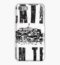 Alcatraz Swim Team iPhone Case/Skin