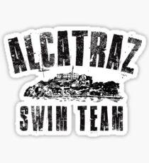 Alcatraz Swim Team Sticker