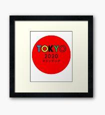 TOKYO OLYMPICS Framed Print