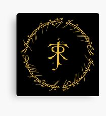 One Ring To Rule Them Canvas Print