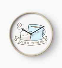 Reloj Justo aquí para el té