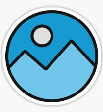 BLUE MOUNTAINS stickers Sticker