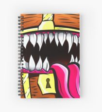 Mimic Chest - Dungeons & Dragons Monster Loot Spiral Notebook