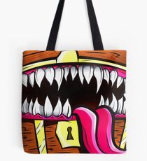 Mimic Chest - Dungeons & Dragons Monster Loot Tote Bag