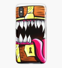 Mimic Chest - Dungeons & Dragons Monster Loot iPhone Case/Skin