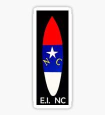 NC Surfboard (Emerald Isle, NC) Sticker