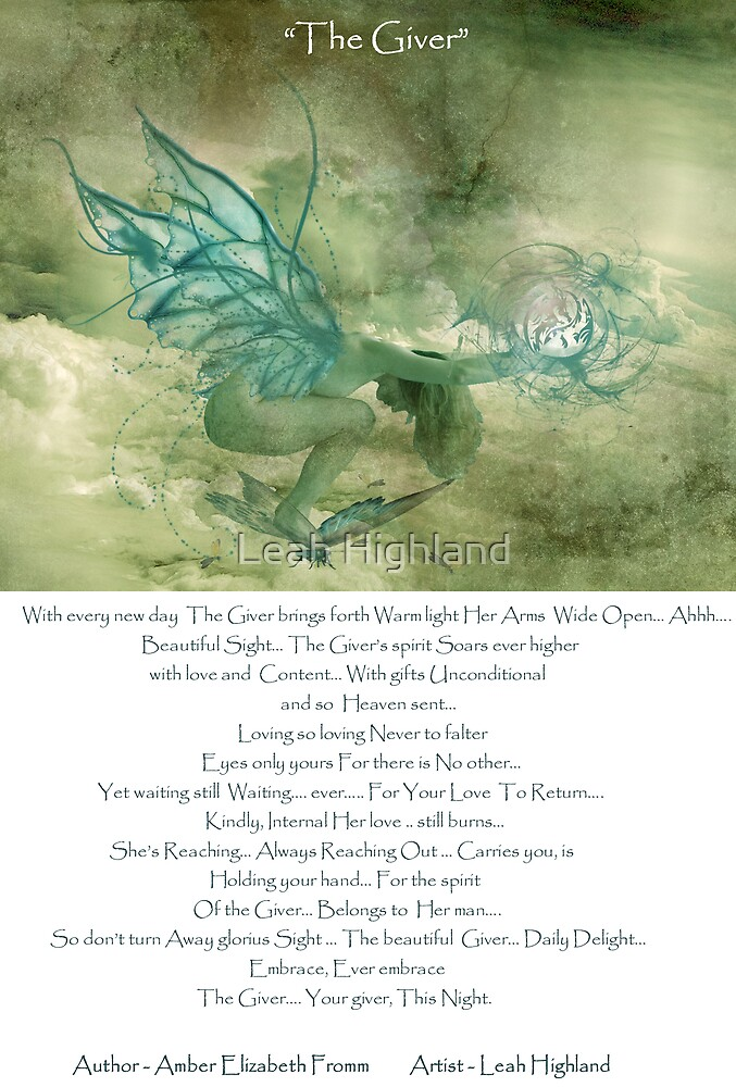 The Giver 2 A collab. with Amber Elizabeth Fromm by Leah Highland