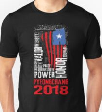 Winter Olympics 2018 PyeongChang Team USA Unisex T-Shirt