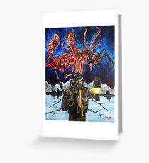 The Thing (John Carpenter) Greeting Card