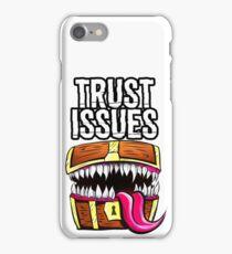 Mimic - Trust Issues iPhone Case/Skin