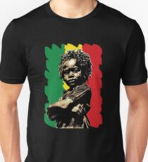 African Child (rasta on black) T-Shirt