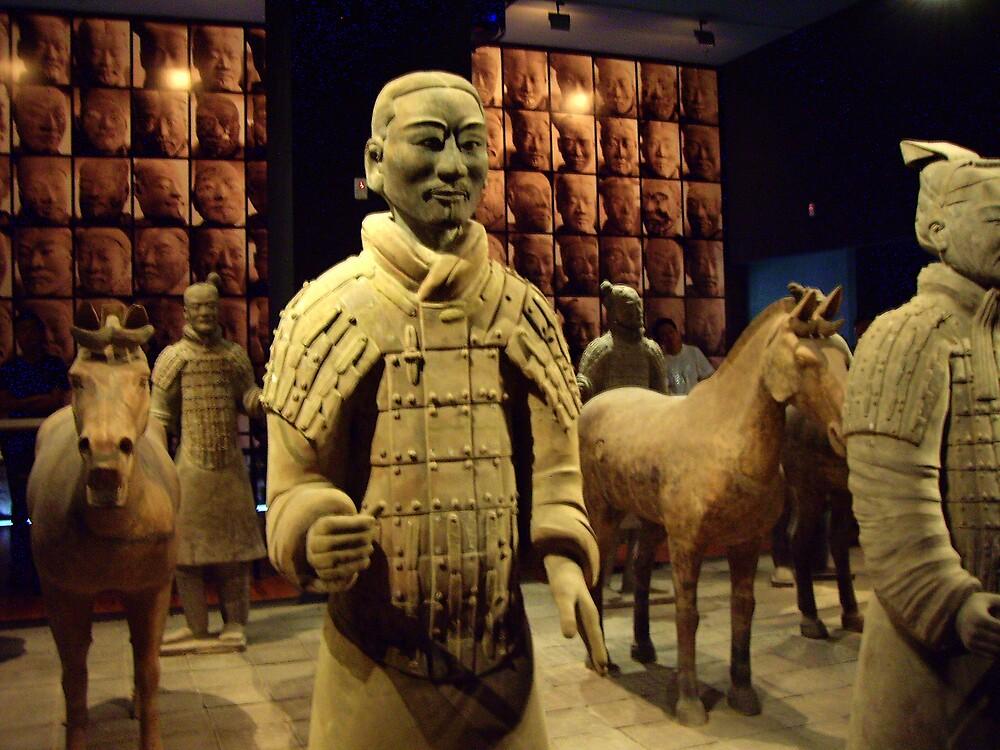 """Mausoleum Museum, Xian."" by lurline"