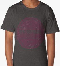 Ten Forward - Rustic Logo Design Long T-Shirt