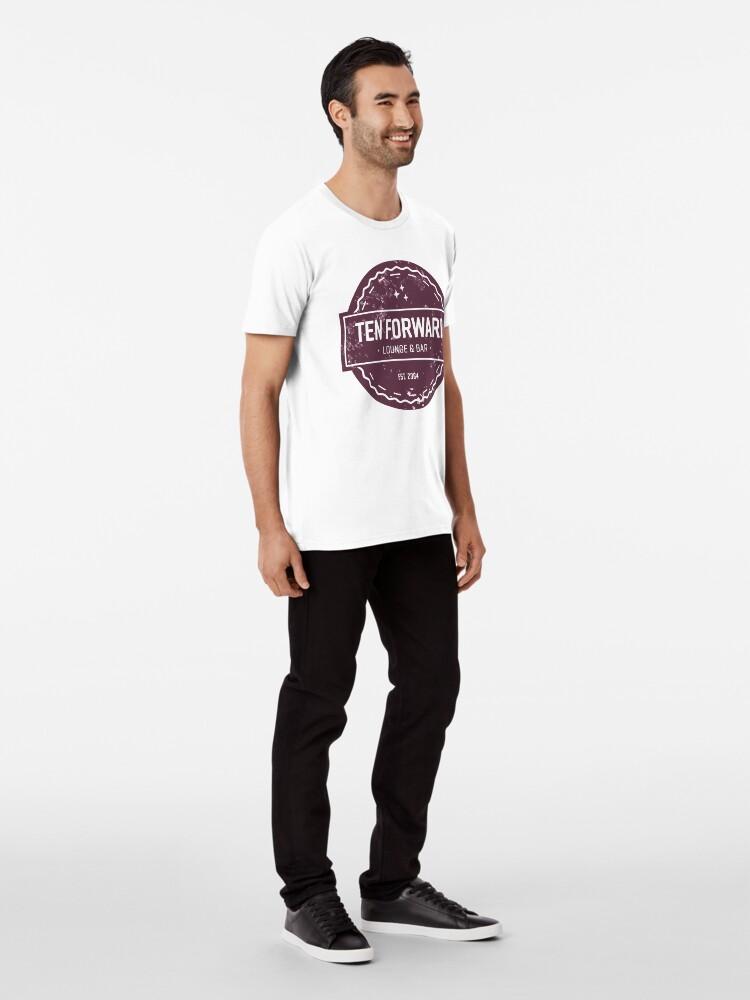 Alternative Ansicht von Zehn Vorwärts - Rustikales Logo Design Premium T-Shirt