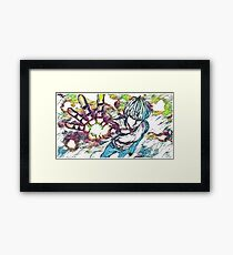 One Punch Man - Genos Framed Print