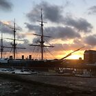 All at Sea - No3 - HMS Warrior by Chris Cardwell