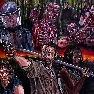 The Walking dead de JosefMendez