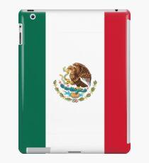 MEXICO, MEXICAN, Mexican Flag, FULL COVER, Flag of Mexico, Bandera de México, Pure & simple iPad Case/Skin