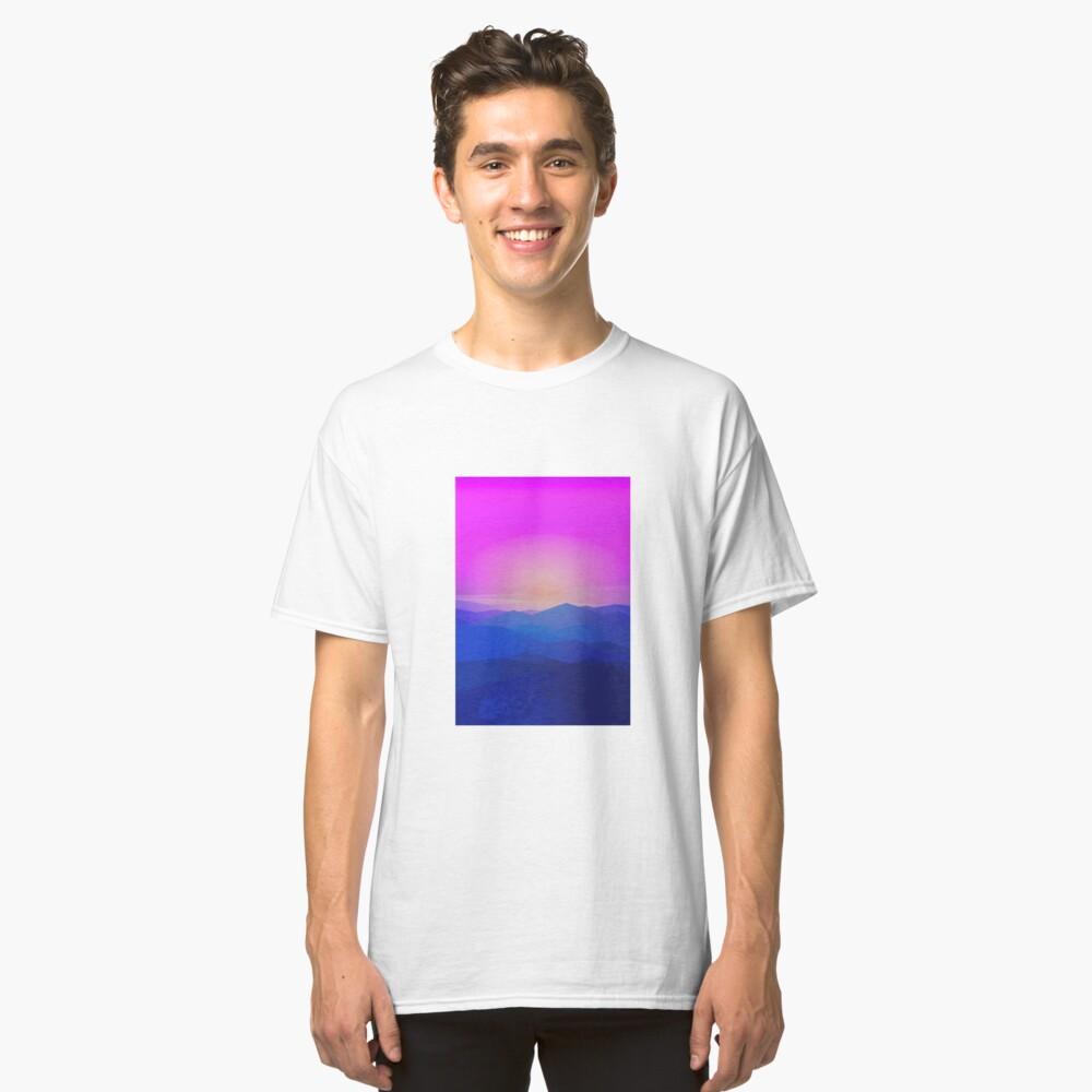 Australia mountains Classic T-Shirt Front